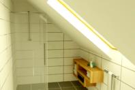 Vizualizácia kúpelne v rodinnom dome